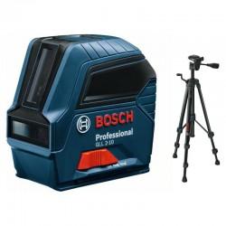 Laser křížový Bosch GLL 2-10 Professional + stativ BT 150