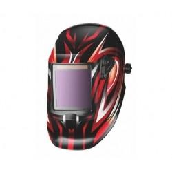 Kukla svářečská samostmívací P1000C - červená - XL průzor