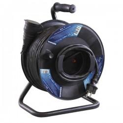 25 M - Gumový prodlužovací kabel na bubnu - spojka 25m - KF-FBGY-21