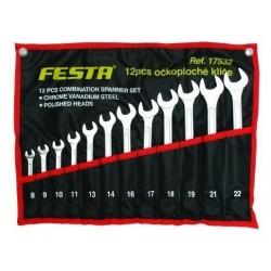 Sada očkoplochých klíčů FESTA 17532 12 dílů